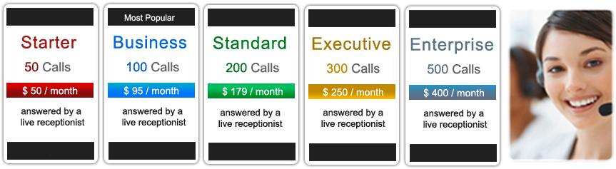 Answering Service Call Plans